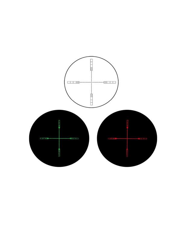 دوربین تفنگ دیسکاوری VT-2 6-24x44 SFIR