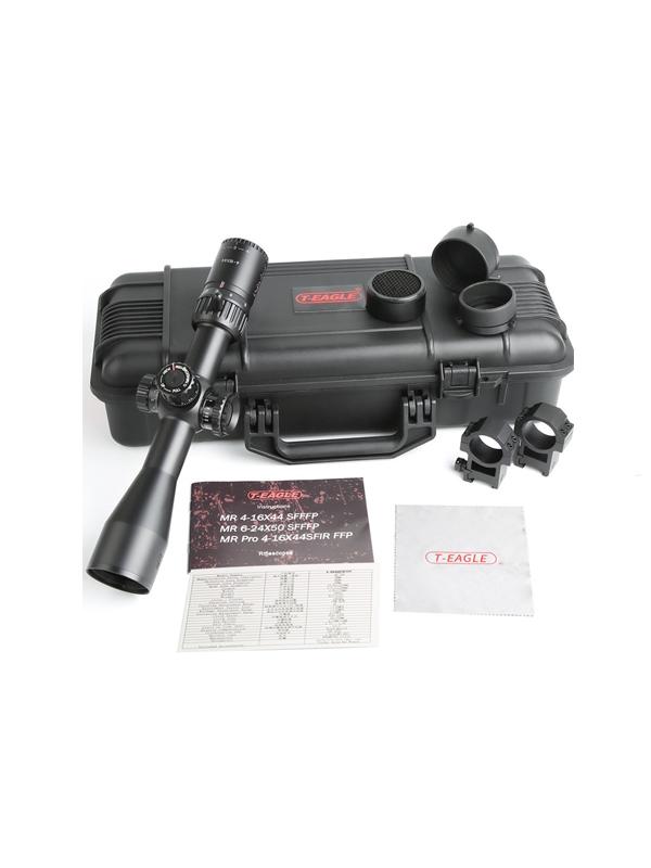 دوربین تفنگ تی ایگل MR Pro 4-16X44 SFIR FFP